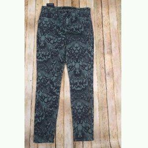 J Brand Maria Dakota Strix High-Rise Skinny Jeans